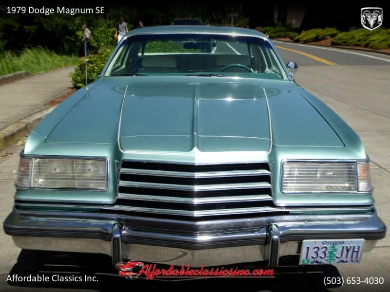 1979 Dodge Magnum SE 10