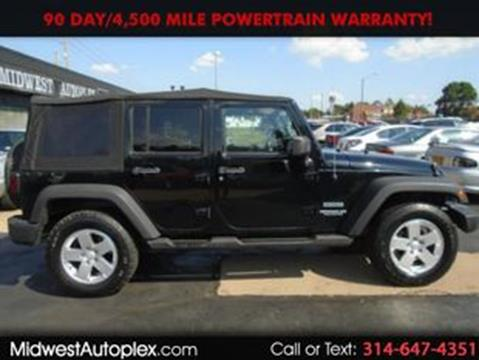 2012 Jeep Wrangler Unlimited for sale in Saint Louis, MO