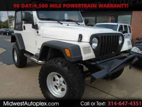 2003 Jeep Wrangler for sale in St. Louis, MO