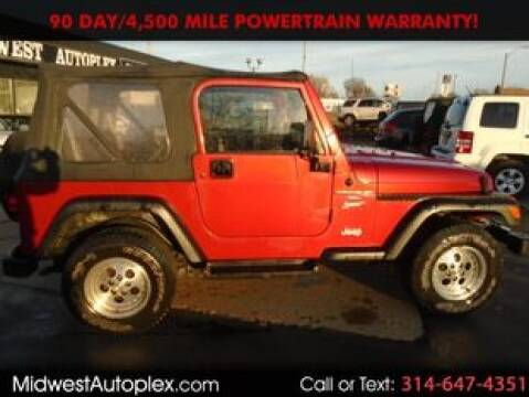 1999 Jeep Wrangler for sale in St. Louis, MO
