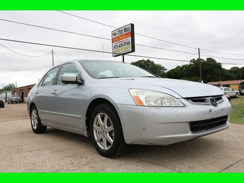 2004 Honda Accord for sale in Lewisville, TX