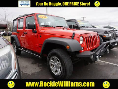 2017 Jeep Wrangler Unlimited for sale at Rockie Williams Premier DCJR in Mount Juliet TN