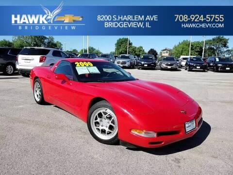 2000 Chevrolet Corvette for sale at Hawk Chevrolet of Bridgeview in Bridgeview IL