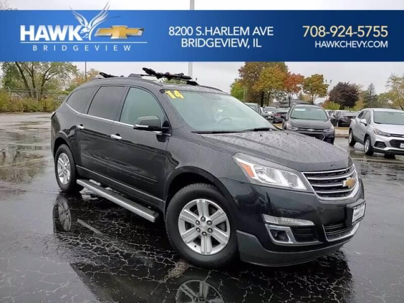 2014 Chevrolet Traverse for sale at Hawk Chevrolet of Bridgeview in Bridgeview IL