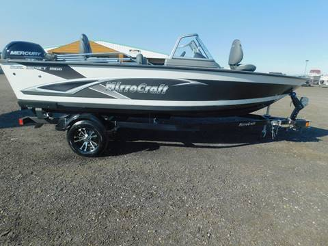 2020 Mirrocraft Dual Impact 1866 for sale in Jerome, ID