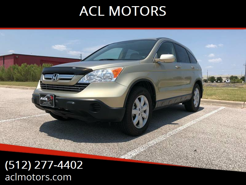 2007 Honda CR V For Sale At ACL MOTORS In Austin TX