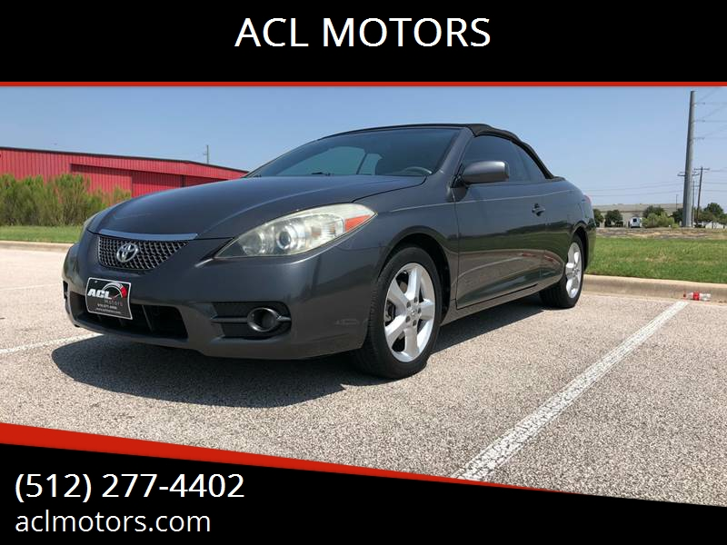 2008 Toyota Camry Solara For Sale At ACL MOTORS In Austin TX