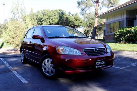 ... 2007 Toyota Corolla In Thousand Oaks CA Evans Auto Brokerage U0026 Sales