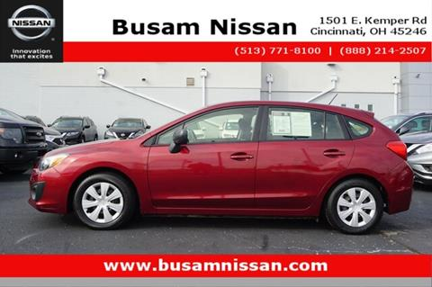 2012 Subaru Impreza for sale in Cincinnati, OH
