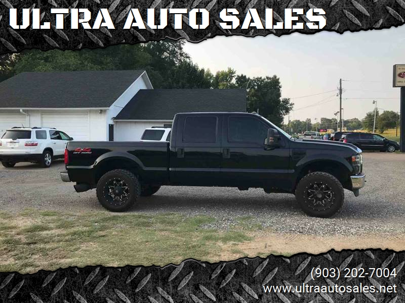 2008 Ford F-250 Super Duty for sale at ULTRA AUTO SALES in Whitehouse TX