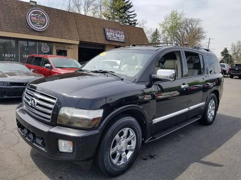 2006 Infiniti QX56 for sale at Billy Auto Sales in Redford MI