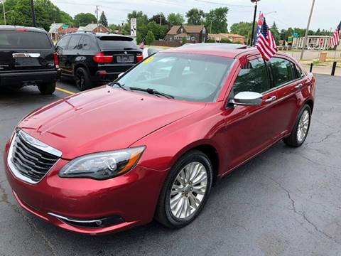 2013 Chrysler 200 for sale at Billy Auto Sales in Redford MI