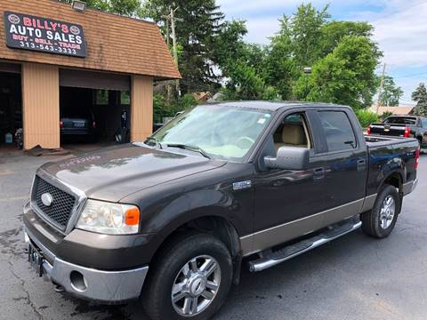 2006 Ford F-150 for sale at Billy Auto Sales in Redford MI