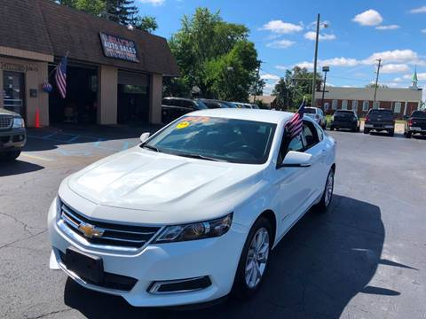 2017 Chevrolet Impala for sale at Billy Auto Sales in Redford MI