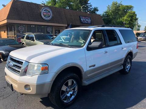 2007 Ford Expedition EL for sale at Billy Auto Sales in Redford MI