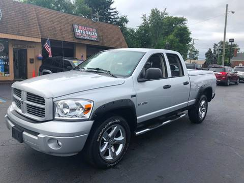 2008 Dodge Ram Pickup 1500 for sale at Billy Auto Sales in Redford MI