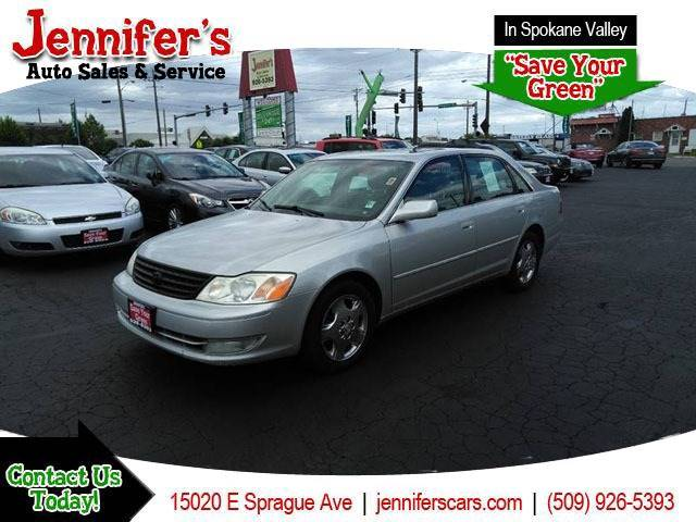 2003 Toyota Avalon For Sale At Jenniferu0027s Auto Sales In Spokane Valley WA