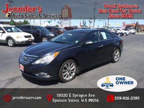2011 Hyundai Sonata for sale at Jennifer's Auto Sales in Spokane Valley WA