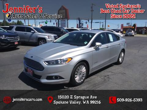 2013 Ford Fusion Hybrid for sale at Jennifer's Auto Sales in Spokane Valley WA