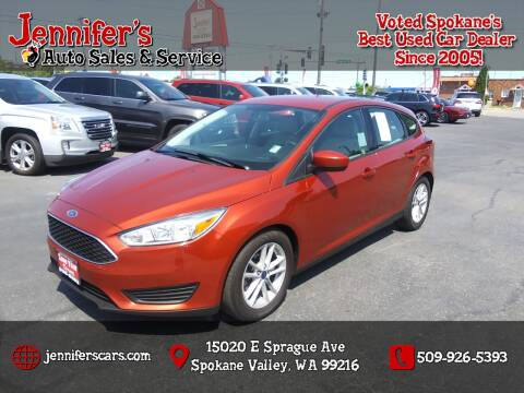 2018 Ford Focus for sale at Jennifer's Auto Sales in Spokane Valley WA