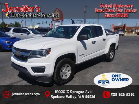 2017 Chevrolet Colorado for sale at Jennifer's Auto Sales in Spokane Valley WA