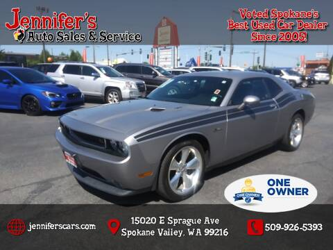 2013 Dodge Challenger for sale at Jennifer's Auto Sales in Spokane Valley WA