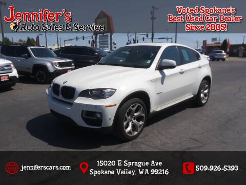 2013 BMW X6 for sale at Jennifer's Auto Sales in Spokane Valley WA