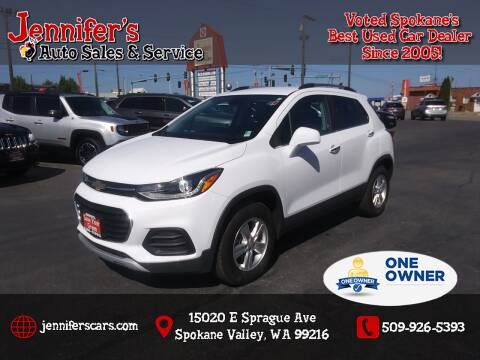 2019 Chevrolet Trax for sale at Jennifer's Auto Sales in Spokane Valley WA