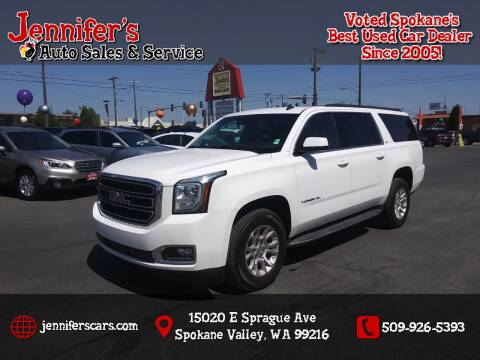 2015 GMC Yukon XL for sale at Jennifer's Auto Sales in Spokane Valley WA