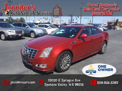 2013 Cadillac CTS for sale at Jennifer's Auto Sales in Spokane Valley WA