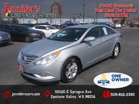 2013 Hyundai Sonata for sale at Jennifer's Auto Sales in Spokane Valley WA