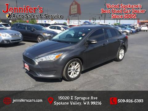 2016 Ford Focus for sale at Jennifer's Auto Sales in Spokane Valley WA