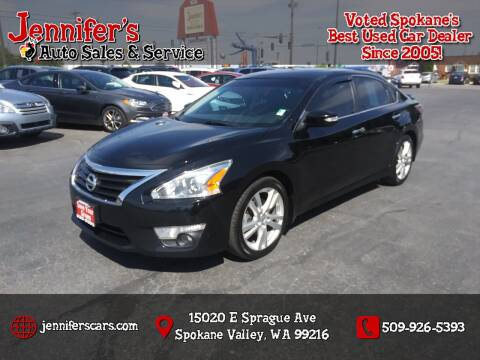 2014 Nissan Altima for sale at Jennifer's Auto Sales in Spokane Valley WA