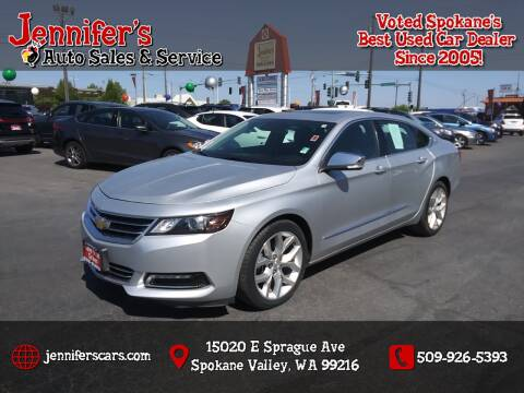 2014 Chevrolet Impala for sale at Jennifer's Auto Sales in Spokane Valley WA