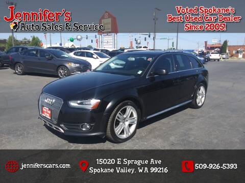 2013 Audi Allroad for sale at Jennifer's Auto Sales in Spokane Valley WA