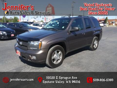2008 Chevrolet TrailBlazer for sale at Jennifer's Auto Sales in Spokane Valley WA