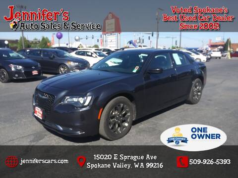 2018 Chrysler 300 for sale at Jennifer's Auto Sales in Spokane Valley WA