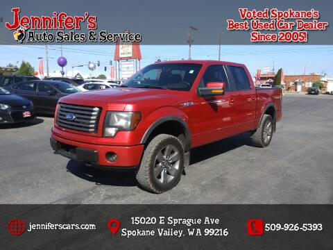 2011 Ford F-150 for sale at Jennifer's Auto Sales in Spokane Valley WA