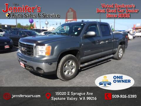 2011 GMC Sierra 1500 for sale at Jennifer's Auto Sales in Spokane Valley WA
