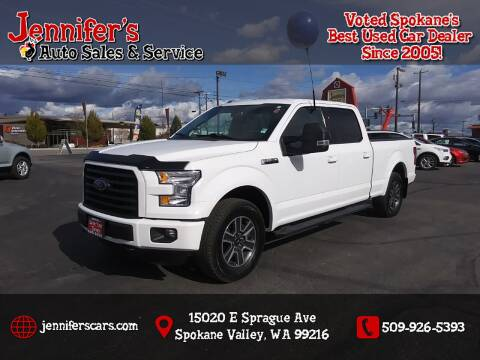 2016 Ford F-150 for sale at Jennifer's Auto Sales in Spokane Valley WA