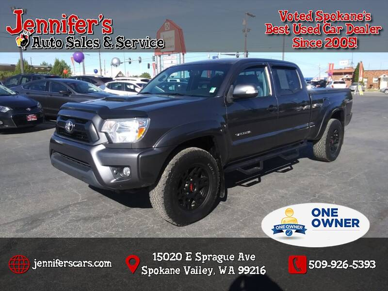 2015 Toyota Tacoma for sale at Jennifer's Auto Sales in Spokane Valley WA