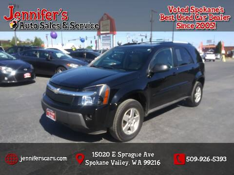 2005 Chevrolet Equinox for sale at Jennifer's Auto Sales in Spokane Valley WA