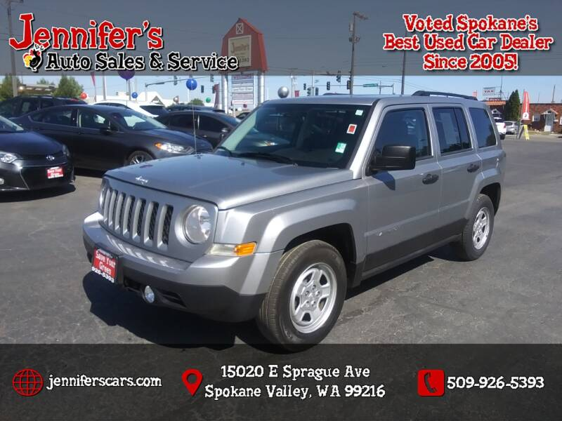 2014 Jeep Patriot for sale at Jennifer's Auto Sales in Spokane Valley WA