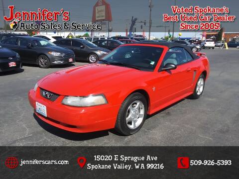 2003 Ford Mustang for sale at Jennifer's Auto Sales in Spokane Valley WA