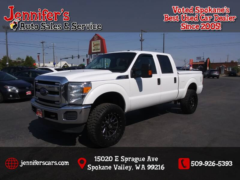 2014 Ford F-250 Super Duty for sale at Jennifer's Auto Sales in Spokane Valley WA