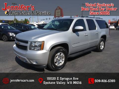 2011 Chevrolet Suburban for sale at Jennifer's Auto Sales in Spokane Valley WA