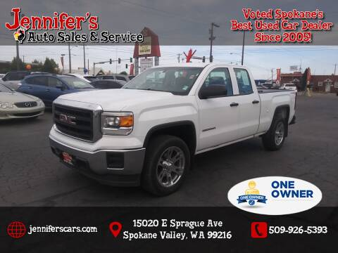 2014 GMC Sierra 1500 for sale at Jennifer's Auto Sales in Spokane Valley WA