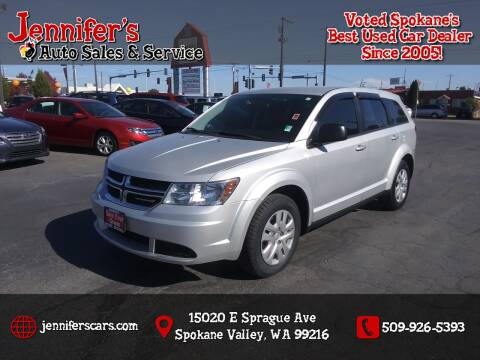 2014 Dodge Journey for sale at Jennifer's Auto Sales in Spokane Valley WA