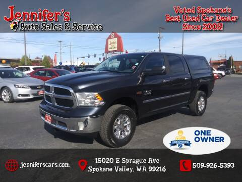 2014 RAM Ram Pickup 1500 for sale at Jennifer's Auto Sales in Spokane Valley WA