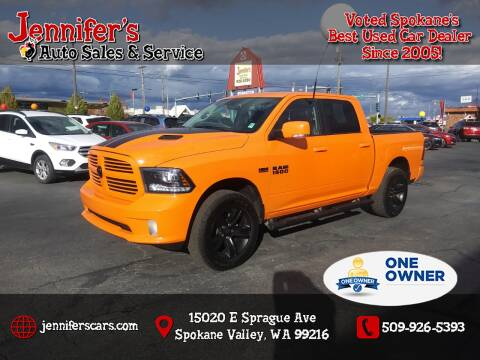 2017 RAM Ram Pickup 1500 for sale at Jennifer's Auto Sales in Spokane Valley WA